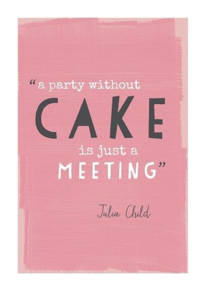 meeting cake