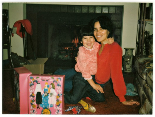 Asia and Mom