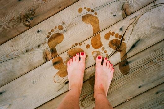 deck feet