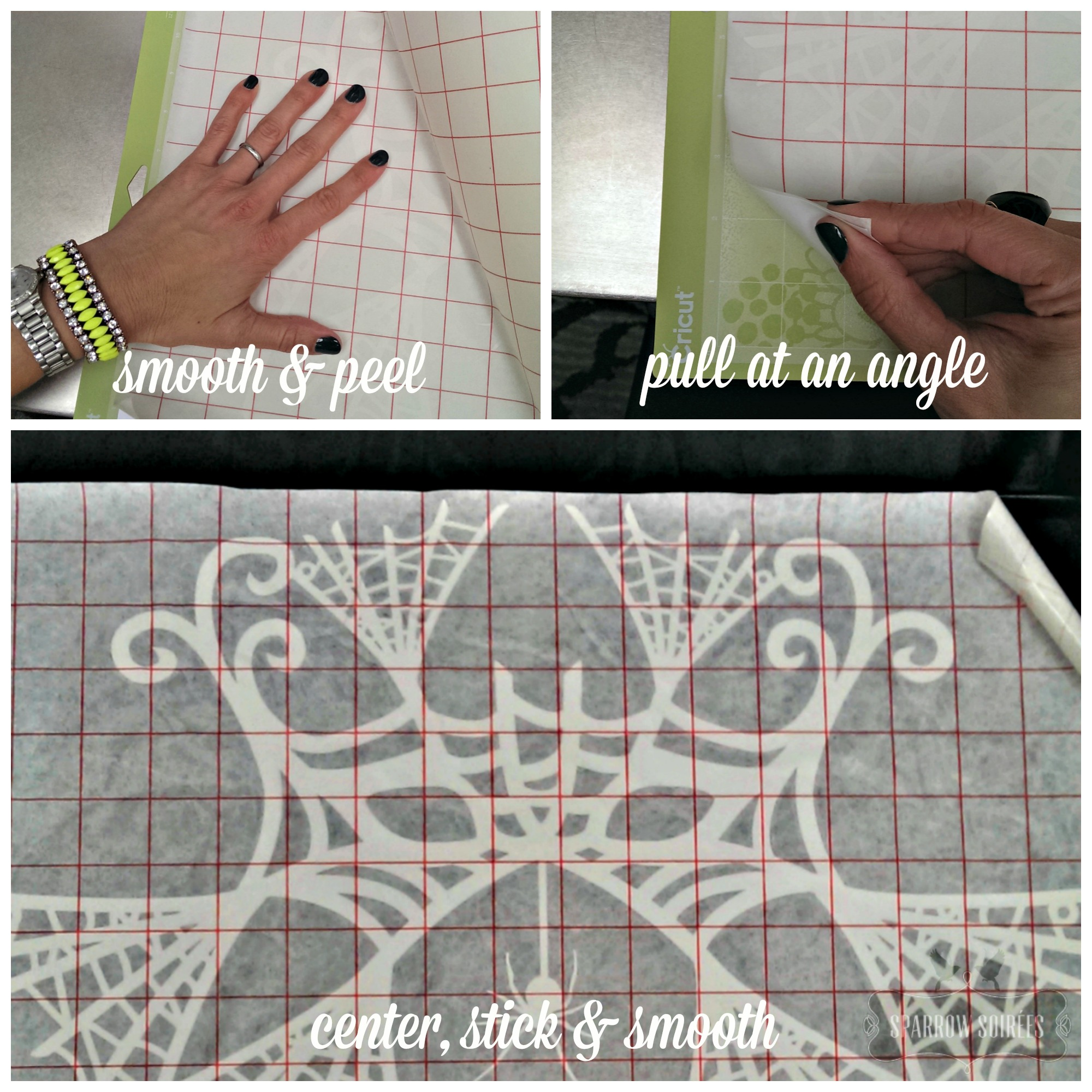 Diy Webbed Mask Tray Amp Bowl Cricut Design Space Star