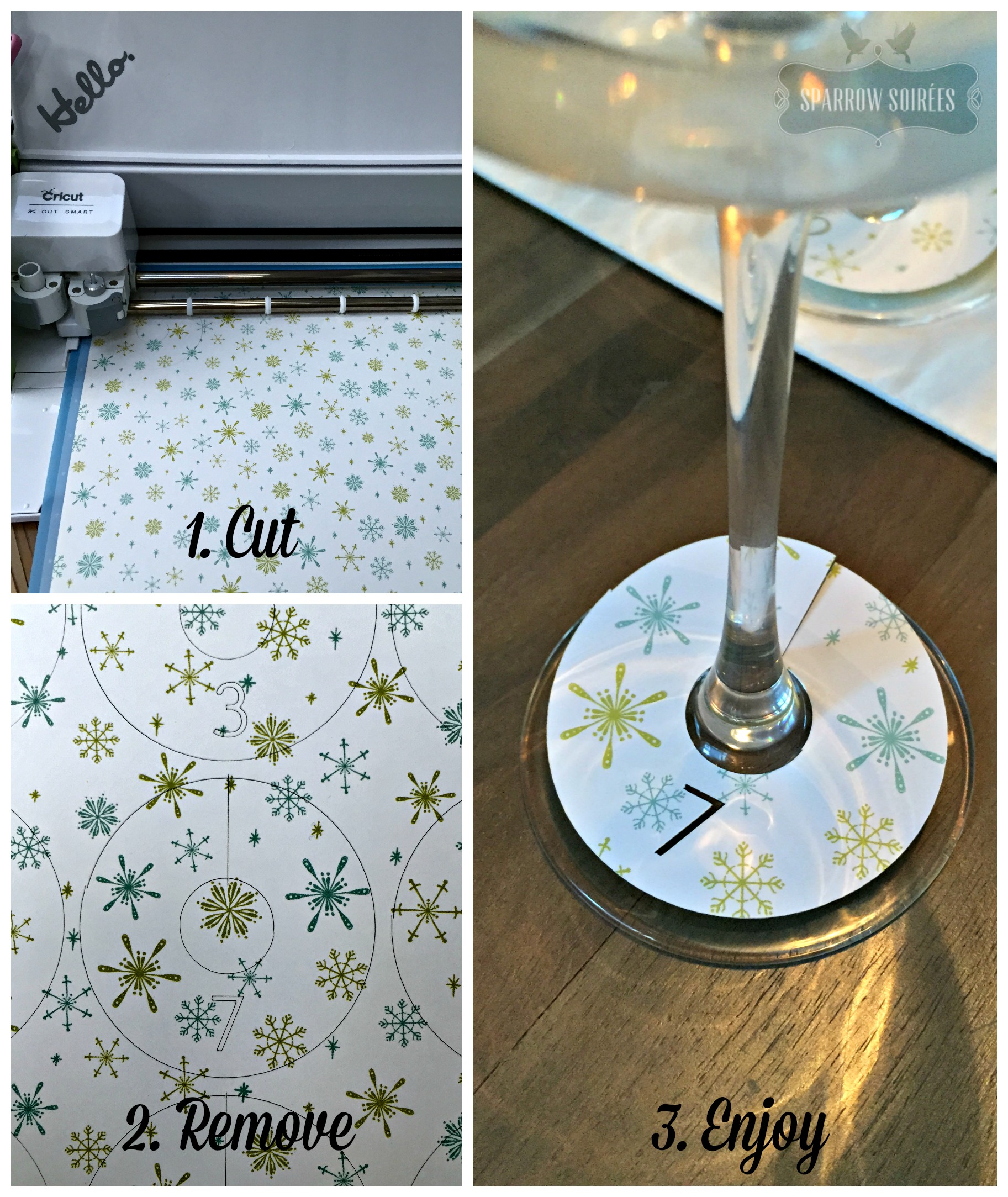 Diy Wine Glass Tags In Three Ways Cricut Design Space